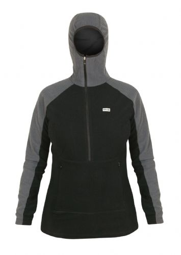 Paramo Ladies Grid Technic Hoodie - Black / Dark Grey